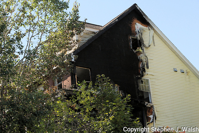 Fire in a large single family residence floors 1,2 and 3 on the A/D corner. 10 Anjim Way