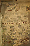 6th Century Byzantine mosaic map on the floor of Madaba's church the oldest map of the Holy Land