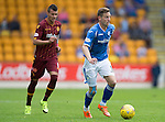 St Johnstone v Motherwell...22.08.15  SPFL   McDiarmid Park, Perth<br /> Steven MacLean<br /> Picture by Graeme Hart.<br /> Copyright Perthshire Picture Agency<br /> Tel: 01738 623350  Mobile: 07990 594431