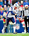 20 December 2009: New England Patriots' punter Chris Hanson in action against the Buffalo Bills at Ralph Wilson Stadium in Orchard Park, New York. The Patriots defeated the Bills 17-10. Mandatory Credit: Ed Wolfstein Photo