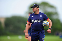 Bath Rugby first team coach Darren Edwards looks on. Bath Rugby pre-season training session on August 9, 2016 at Farleigh House in Bath, England. Photo by: Patrick Khachfe / Onside Images