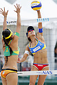 Shinako Tanaka, MAY 6, 2012 - Beach Volleyball : JBV Tour 2012 Sports Club NAS Open  Women's final at Odaiba Beach, Tokyo, Japan. (Photo by Yusuke Nakanishi/AFLO SPORT) [1090]