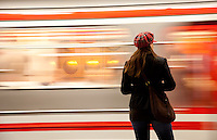Prague Metro underground Czech Republic