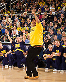 The University of Michigan men's basketball team beat Illinois, 71-58, at Crisler Center in Ann Arbor, Mich., on February 24, 2013.