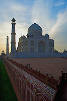 Early morning at the Taj Mahal Agra, India
