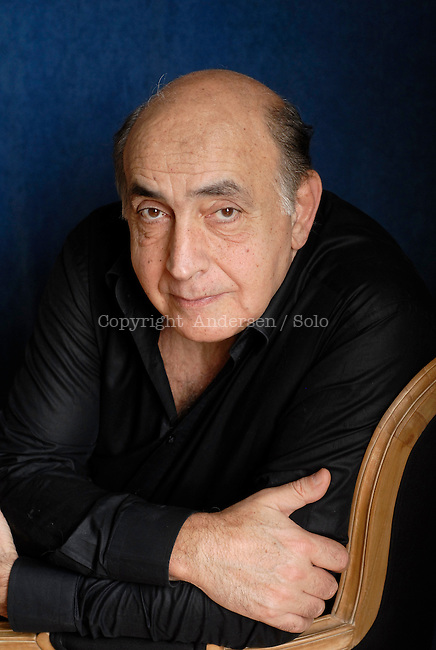 French writer Gilbert Sinoue. Paris, June 14, 2012 - &copy; Ulf Andersen