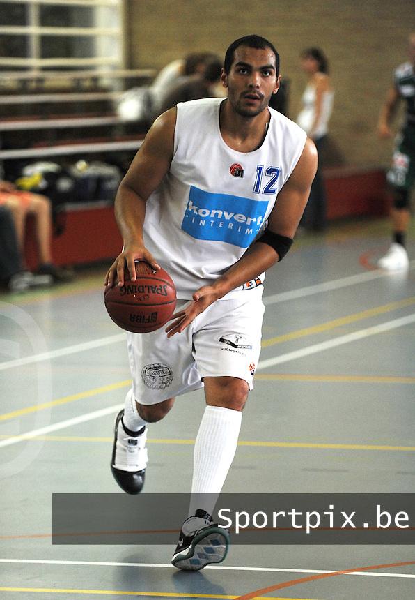 Kortrijk Sport CB Fanion One : Renaud Leclerqs.foto VDB / BART VANDENBROUCKE