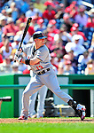 29 August 2010: St. Louis Cardinals infielder Brendan Ryan in action against the Washington Nationals at Nationals Park in Washington, DC. The Nationals defeated the Cards 4-2 to take the final game of their 4-game series. Mandatory Credit: Ed Wolfstein Photo