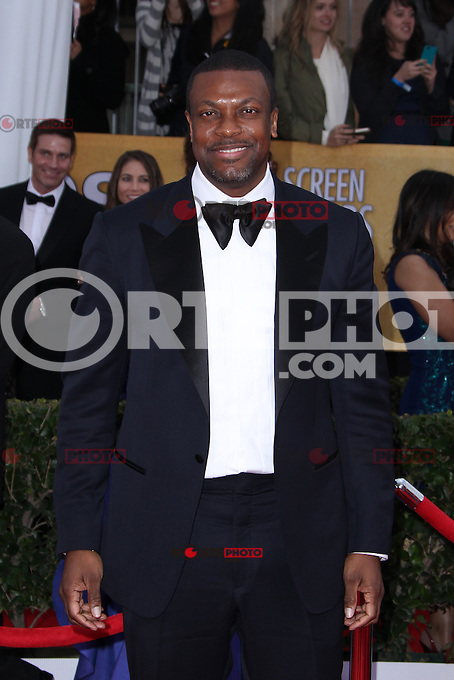 LOS ANGELES, CA - JANUARY 27: Chris Tucker at The 19th Annual Screen Actors Guild Awards at the Los Angeles Shrine Exposition Center in Los Angeles, California. January 27, 2013. Credit: MediaPunch Inc.