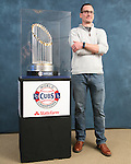 Reynolds Hosts the Cubs' World Series Trophy