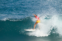 CARRISA MOORE (HAW).  SOMEWHERE, Porta Del Sol/Puerto Rico (Sunday, October 31, 2010).The Rip Curl Women's Pro Search Puerto Rico opened today up with Round 3 of competition in punchy two-to-three foot (1 metre) waves at the primary site of Porta Del Sol.. .Stop No. 7 of 8 on the 2010 ASP Women's World Tour, the Rip Curl Women's Pro Search Puerto Rico bore witness to high drama and intense action today as the world's best female surfers lit up the Caribbean reef break.. .The 2010 ASP Women's World Title Race is still on with current ASP Women's World No. 1 Stephanie Gilmore (AUS), 22, and current ASP Women's World No. 2 Sally Fitzgibbons (AUS), 19, advancing through to the Quarterfinals..The Men's Round two was also completed today..Photo: joliphotos.com