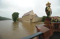 02.06.2013 Muldehochwasser bedroht Altstadt @ Grimma