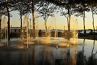 Wading Fountain,  Battery Park,  Manhattan, New York City, New York, USA
