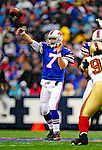 30 November 2008: Buffalo Bills' quarterback J.P. Losman in action against the San Francisco 49ers at Ralph Wilson Stadium in Orchard Park, NY. The 49ers defeated the Bills 10-3. ***** Editorial Use Only ******..Mandatory Photo Credit: Ed Wolfstein Photo