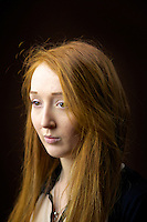 Caitlin Palmer 20, student, from Glasgow.<br /> <br /> 'I'd say I&rsquo;m British because dad is Irish, mum is Scottish and I was born in England. I have lived in Scotland for nine years. I don&rsquo;t know what I am!'<br /> <br /> 'On the subway to come here I sat opposite a guy with red hair and next to someone. We are a little community in Glasgow!'<br /> <br /> 'People coming up and saying 'I love your hair', its so nice, though usually only old people. I can&rsquo;t speak on behalf of all gingers but I am fiery tempered at home for sure. There is no downside, I would never change it. I love it - its unique and great.'<br /> <br /> 'Friends love it but only as their crazy ginger friend.'