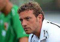 Fussball 1. Bundesliga:  Saison  Vorbereitung 2012/2013     Testspiel: Bayer 04 Leverkusen - FC Augsburg  25.07.2012 Trainer Markus Weinzierl (FC Augsburg)