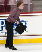 Chuck Van Kula (BC - Student Manager) - The Boston College Eagles defeated the visiting Colorado College Tigers 4-1 on Friday, October 21, 2016, at Kelley Rink in Conte Forum in Chestnut Hill, Massachusetts.The Boston College Eagles defeated the visiting Colorado College Tiger 4-1 on Friday, October 21, 2016, at Kelley Rink in Conte Forum in Chestnut Hill, Massachusett.