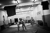 Krotoszyn 02.10.2010 Poland<br /> Poles do not know much about sumo. Japan's national sport remains a mystery, except for the image of the very big and fat sumo wrestlers. However Polish sumo wrestlers have been, for many years, classified among world's leading sportsmen in this field. Since 1995 more and more followers join the sumo sections, fascinated with the art of fighting on the clay dohyo.<br /> Photo: Adam Lach / Napo Images<br /> <br /> Polacy niewiele wiedza o sumo. Narodowy sport Japonii to wciaz tajemnica. Kojarzy sie jedynie z wielkimi i grubymi mezczyznami. Jednak zawodnicy z Polski od lat naleza do swiatowej czolowki w tej dyscyplinie. Od 1995 roku w sekcjach sumo przybywa zawodnik&oacute;w zafascynowanych zmaganiami na glinianym dohyo.<br /> Fot: Adam Lach / Napo Images