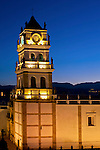 Metropolitan Cathedral_Dusk_Sucre_Bolivia