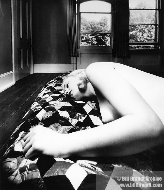 Nude, Hampstead, London, 1955, August