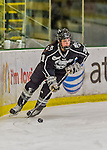 1 February 2015: Providence College Friar Forward Haley Frade, a Senior from Marion, MA, in first period action against the University of Vermont Catamounts at Gutterson Fieldhouse in Burlington, Vermont. The Friars fell to the Lady Cats 7-3 in Hockey East play. Mandatory Credit: Ed Wolfstein Photo *** RAW (NEF) Image File Available ***