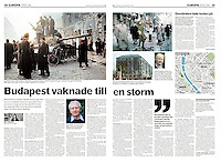 Dagens Nyheter, Sweden, 2006 October 21, Photographer: Jenö Kiss