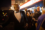 Wayne Brady greets fans outside the Hip-Hop Inaugural Ball, January 20, 2013 in Washington, DC.