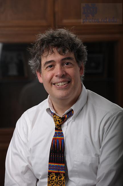 Law Professor Jay Tidmarsh..Photo by Matt Cashore/University of Notre Dame
