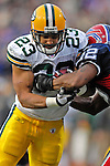 5 November 2006: Green Bay Packers running back Noah Herron (23) in action against the Buffalo Bills at Ralph Wilson Stadium in Orchard Park, NY. The Bills defeated the Packers 24-10. Mandatory Photo Credit: Ed Wolfstein Photo.<br />