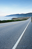 Cabrillo highway - Hwy 1 north of San Simeon, California