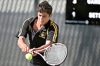 Action from the CSW - Tennis Open Individual Championships at Renouf, Wellington, New Zealand on Wednesday 26 February 2014.<br /> Photo by Masanori Udagawa.<br /> www.photowellington.photoshelter.com.