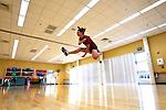 Champion jump roper doesn't skip a beat