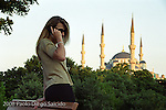 Blue Mosque/Istanbul/Turkey/Islam/Muslim;by San Francisco advertising photographer Paolo Diego Salcido shoots travel locations around the world.