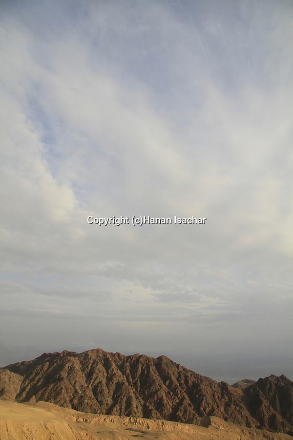 Israel, Eilat Mountains, a view of Mount Shlomo