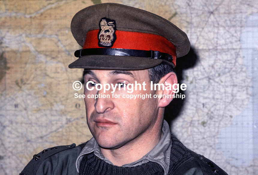 Brigadier Frank Kitson, British military 'counter insurgency' expert, who served in N Ireland. Ref: 197111450a..Copyright Image from Victor Patterson, 54 Dorchester Park, Belfast, UK, BT9 6RJ..Tel: +44 28 9066 1296.Mob: +44 7802 353836.Voicemail +44 20 8816 7153.Skype: victorpattersonbelfast.Email: victorpatterson@mac.com.Email: victorpatterson@ireland.com (back-up)..IMPORTANT: If you wish to use this image or any other of my images please go to www.victorpatterson.com and click on the Terms & Conditions. Then contact me by email or phone with the reference number(s) of the image(s) concerned.