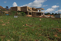 This land not for sale - but much is changing hands - a GDP growth rate of 6.9% in 2008 means there is evidence of growth and new building in suburbs of Kampala - like Naalya.
