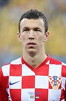FUSSBALL WM 2014  VORRUNDE    Gruppe A    12.06.2014 Brasilien - Kroatien Ivan Perisic (Kroatien)