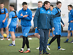 St Johnstone Training&hellip;.31.03.17<br />Graham Cummins pictured with manager Tommy Wright during training on the astroturf at McDiarmid Park this morning ahead of tomorrow&rsquo;s game at Hamilton.<br />Picture by Graeme Hart.<br />Copyright Perthshire Picture Agency<br />Tel: 01738 623350  Mobile: 07990 594431