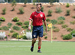 29 July 2006: U.S. head coach Greg Ryan (USA). The United States Women's National Team trained at SAS Stadium in Cary, North Carolina, in preparation for an International Friendly match against Canada to be played on Sunday, July 30.
