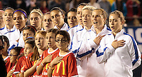 USWNT vs China, Thursday, April 10, 2014