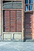 Walk Street, El Bulevar, Cienfuegos, Cuba, Republic of Cuba, , pictures of front door entrances
