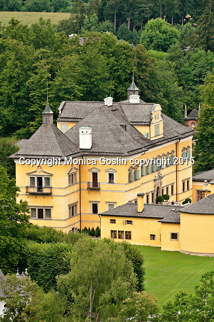 Hellbrunn Palace, built betwen 1612 and 1615 for the Salzburg's prince-archbishop Markus Sittikus as a summer residence