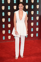 Laia Costa at the 2017 EE British Academy Film Awards (BAFTA) held at The Royal Albert Hall, London, UK. <br /> 12 February  2017<br /> Picture: Steve Vas/Featureflash/SilverHub 0208 004 5359 sales@silverhubmedia.com