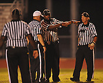 Officials at Oxford High vs. Lake Cormorant in Oxford, Miss. on Friday, October 5, 2012. Oxford High won 26-0.