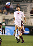 14 December 2007: Ohio State's Xavier Balc. The Ohio State University Buckeyes defeated the University of Massachusetts Minutemen 1-0 at SAS Stadium in Cary, North Carolina in a NCAA Division I Mens College Cup semifinal game.