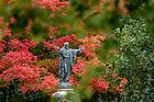October 11, 2016; Jesus statue outside on Main Quad (Photo by Matt Cashore/University of Notre Dame)
