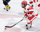 Sophomore Taylor Holze (BU - 24) played in her first game and earned two assists. - The Boston University Terriers defeated the visiting University of Windsor Lancers 4-1 in a Saturday afternoon, September 25, 2010, exhibition game at Walter Brown Arena in Boston, MA.