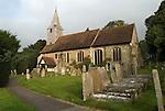 St Mary's Church Kemsing Kent Uk.