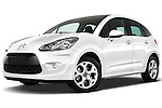 Citroen C3 Exclusive Hatchback 2010 Stock Photo