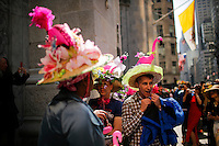 People take part during the annual easter parade in Manhattan, New York, 03.27.2016. This annual tradition has been taking place in New York City for over 100 years, Photo by VIEWpress.